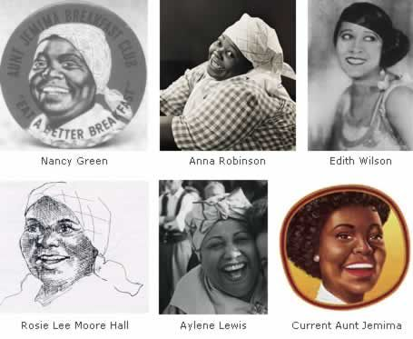 Black Then | Living Trademarks: The Women Behind The Faces Of Aunt ...