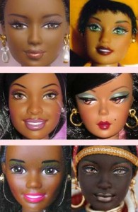 many faces of barbie