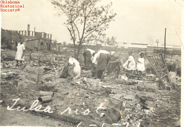 a history of the tulsa race riot of 1921 The tulsa race riot of 1921: determining its causes and framing by chris messer bachelor of science, sociology oklahoma state university stillwater, oklahoma.