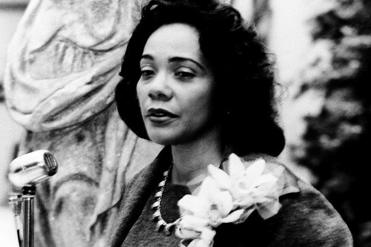 Image result for photo of coretta scott king