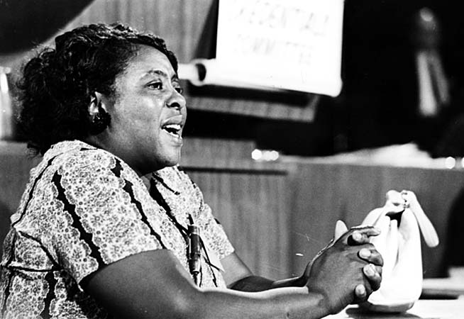 fannie lou hammer Fannie lou hamer—born oct 6, 1917—became famous for her words, from i question america to i'm sick and tired of being sick and tired.