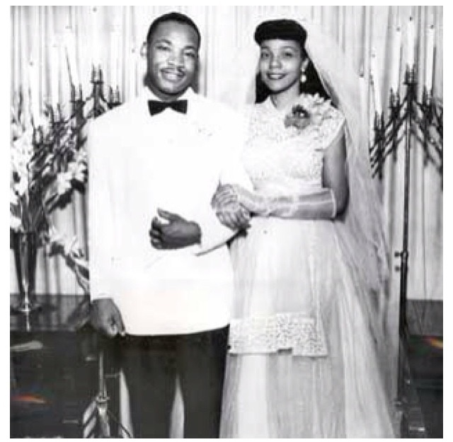 Happy Anniversary Mr. & Mrs. Martin Luther King Jr. - Married Today in 1953 | Black Then