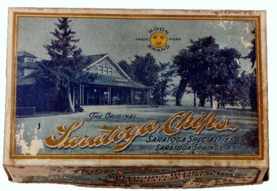 An original chip box from George Crum's era.
