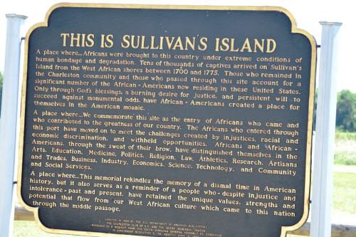 Sullivan Island Historic Marker