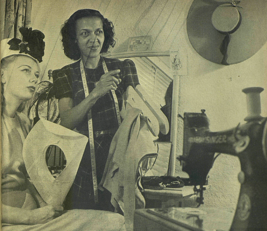Black Then Mildred Blount First African American To Make Hats For Celebrities