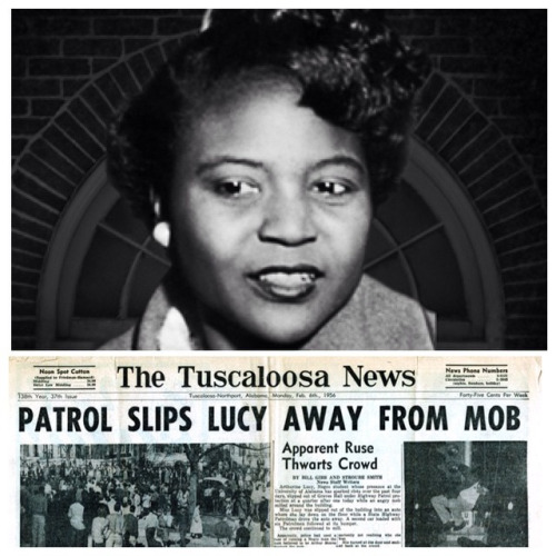 Autherine Lucy University Of Alabama Suspends First Black
