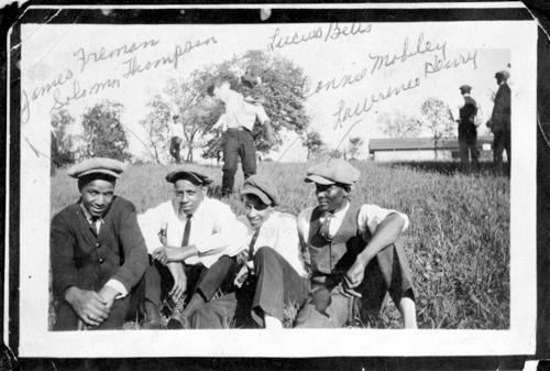 Gentlemen from Nicodemus, Kansas