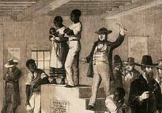 block auction female on the slaves