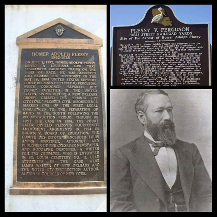 """June 7, 1892: Homer Plessy Arrested for Refusing to Leave """"Whites-Only"""" Seat 