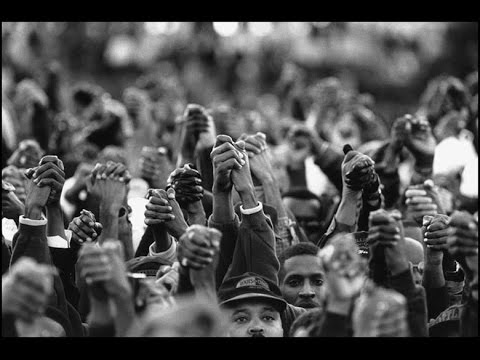 documentary short the million man march video black then
