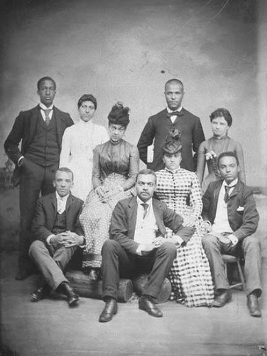 African American Family, c. 1860