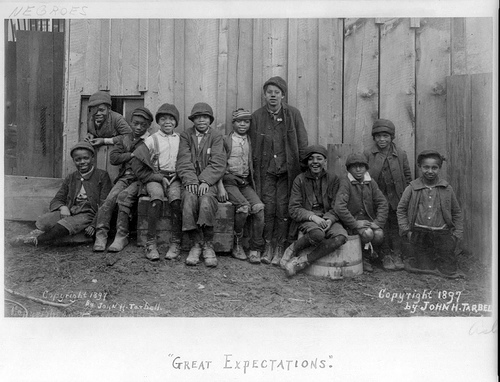 Great Expectations (African American Boys, Group Portrait)
