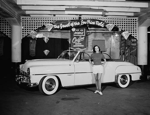 African American Car Ad, 1951