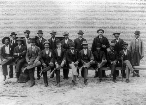 African American Bricklayers Union, 1899