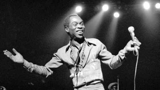 Black Then | Fela Kuti: Prominent Figure of the Afrobeat Genre