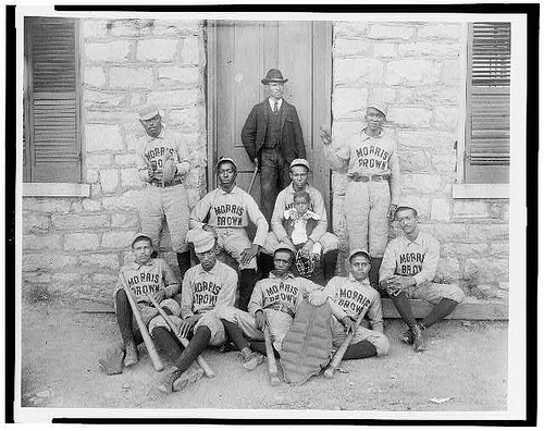 African-American baseball players of Morris Brown College Atlanta
