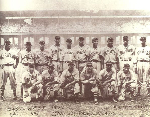 Negro League, East All-Star Team, 1939