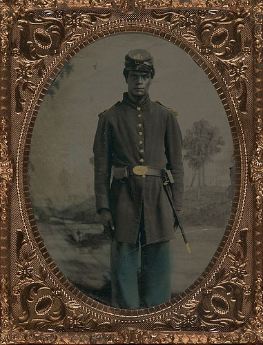 Portrait of Black Union Soldier | 1864