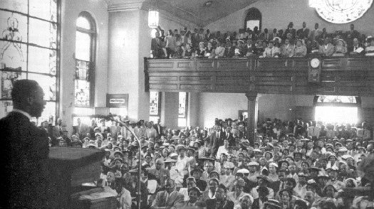 the role of the church during The role of the church in every african american community played a major role in the civil rights movement, but the role of the church began long before the revered reverend, martin luther king, jr was born.